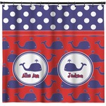 Whale Shower Curtain (Personalized)