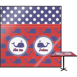 Whale Square Table Top (Personalized)