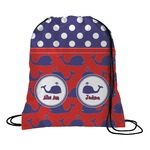 Whale Drawstring Backpack (Personalized)