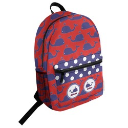 Whale Student Backpack (Personalized)