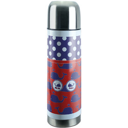 Whale Stainless Steel Thermos (Personalized)