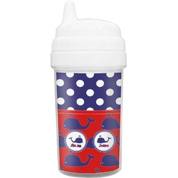 Whale Toddler Sippy Cup (Personalized)