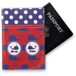 Whale Vinyl Passport Holder (Personalized)