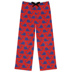 Whale Womens Pajama Pants (Personalized)