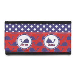 Whale Leatherette Ladies Wallet (Personalized)