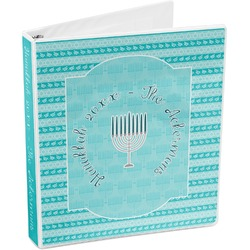 Hanukkah 3-Ring Binder (Personalized)