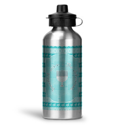 Hanukkah Water Bottle - Aluminum - 20 oz (Personalized)