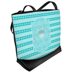 Hanukkah Beach Tote Bag (Personalized)