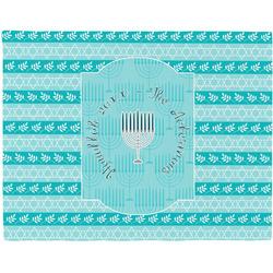 Hanukkah Placemat (Fabric) (Personalized)