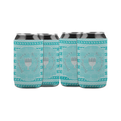 Hanukkah Can Sleeve (12 oz) (Personalized)