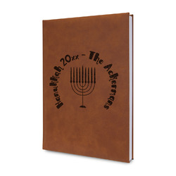 Hanukkah Leatherette Journal (Personalized)