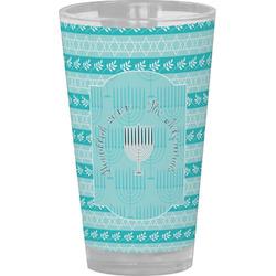 Hanukkah Drinking / Pint Glass (Personalized)