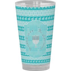 Hanukkah Drinking / Pint Glass (Personalized)