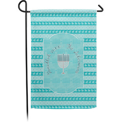 Hanukkah Garden Flag - Single or Double Sided (Personalized)