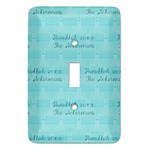 Hanukkah Light Switch Covers - Multiple Toggle Options Available (Personalized)