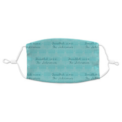 Hanukkah Adult Cloth Face Mask (Personalized)