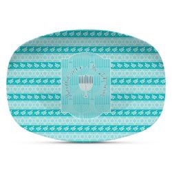 Hanukkah Plastic Platter - Microwave & Oven Safe Composite Polymer (Personalized)