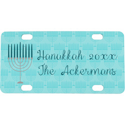 Hanukkah Mini / Bicycle License Plate (Personalized)