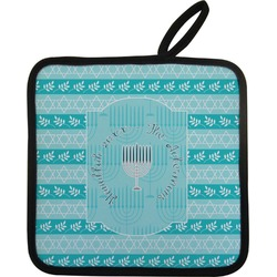Hanukkah Pot Holder (Personalized)