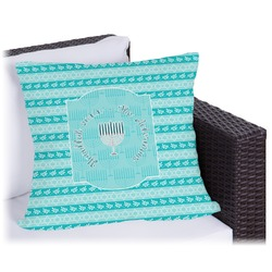 Hanukkah Outdoor Pillow (Personalized)