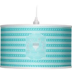 Hanukkah Drum Pendant Lamp (Personalized)