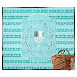 Hanukkah Outdoor Picnic Blanket (Personalized)
