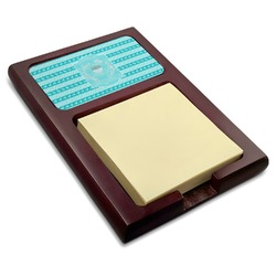 Hanukkah Red Mahogany Sticky Note Holder (Personalized)