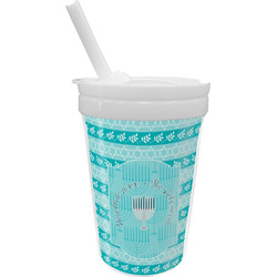 Hanukkah Sippy Cup with Straw (Personalized)