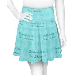 Hanukkah Skater Skirt (Personalized)