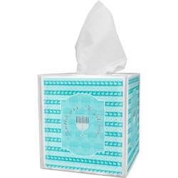Hanukkah Tissue Box Cover (Personalized)