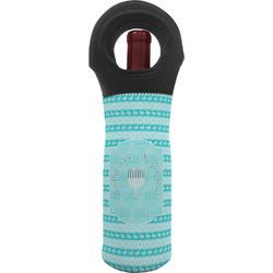 Hanukkah Wine Tote Bag (Personalized)