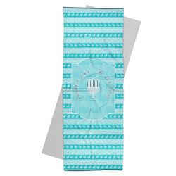 Hanukkah Yoga Mat Towel (Personalized)