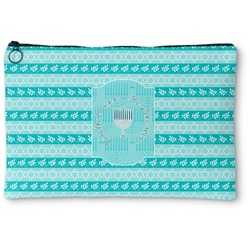 Hanukkah Zipper Pouch (Personalized)