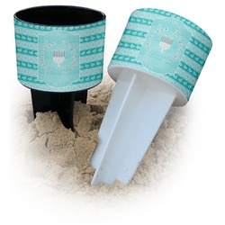 Hanukkah Beach Spiker Drink Holder (Personalized)