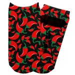 Chili Peppers Adult Ankle Socks (Personalized)