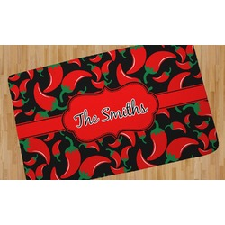 Chili Peppers Area Rug (Personalized)