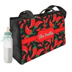 Chili Peppers Diaper Bag (Personalized)