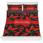 Chili Peppers Comforter Set (Personalized)