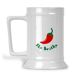 Chili Peppers Beer Stein (Personalized)