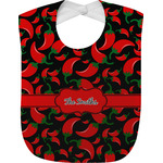 Chili Peppers Baby Bib (Personalized)