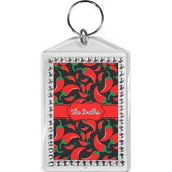 Chili Peppers Bling Keychain (Personalized)