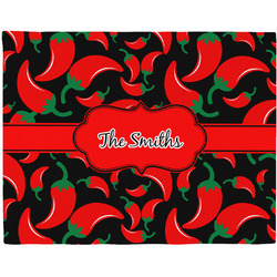 Chili Peppers Placemat (Fabric) (Personalized)