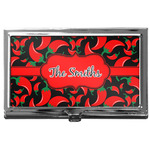 Chili Peppers Business Card Case