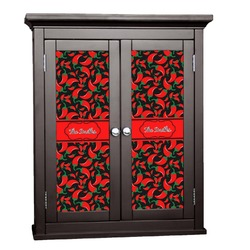 Chili Peppers Cabinet Decal - Custom Size (Personalized)