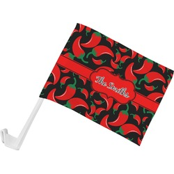 Chili Peppers Car Flag (Personalized)
