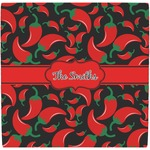 Chili Peppers Ceramic Tile Hot Pad (Personalized)