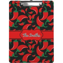 Chili Peppers Clipboard (Personalized)