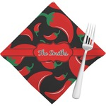 Chili Peppers Napkins (Set of 4) (Personalized)