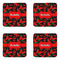 Chili Peppers Coaster Set - APPROVAL