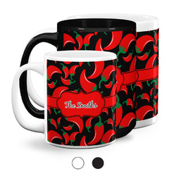 Chili Peppers Coffee Mugs (Personalized)